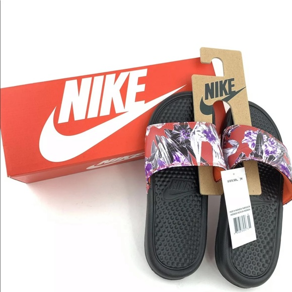 Nike Shoes - NEW NIKE WOMEN'S BENASSI JDI PRINT SLIDES